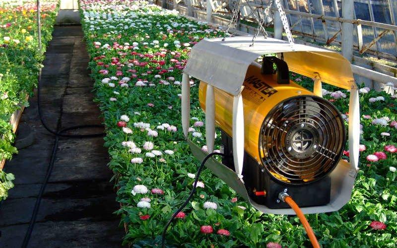 Nagrzewnica Master BLP 11M - zastosowanie w rolnictwie